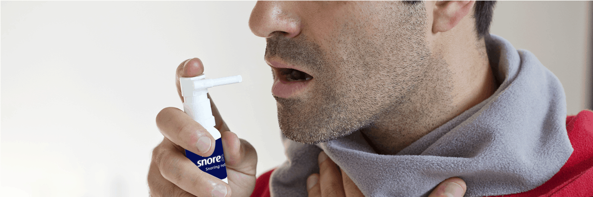 5 Gründe, warum Sie ein Rachenspray/Gaumenstreifen zur Behandlung des Schnarchens verwenden sollten