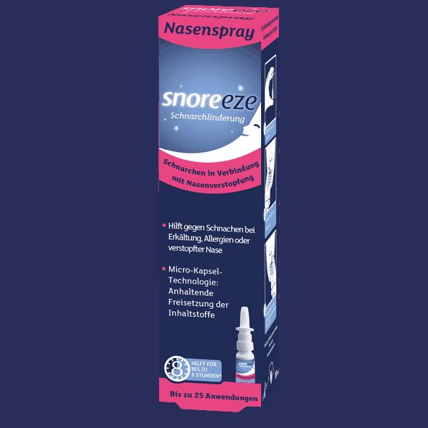 Snoreeze Nasenspray Einzelpackung