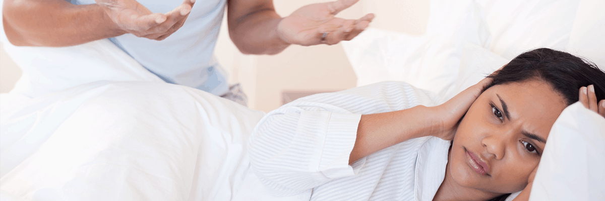 Can snoring and a lack of sleep ruin your relationship?