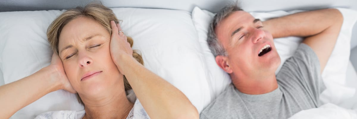 Your partner snores – should you do something about it?
