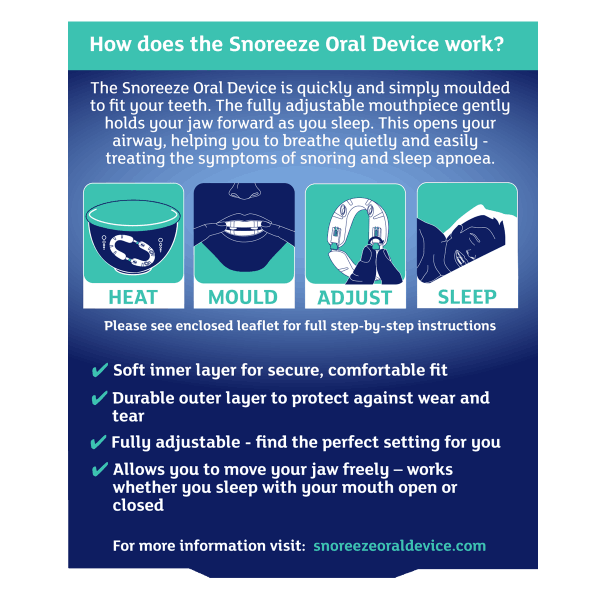 Snoreeze Oral Device