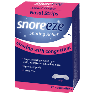 Snoreeze Nasal Strips Large Single Pack