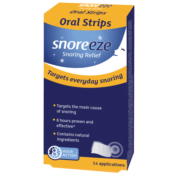 Snoreeze Oral Strips 14 Single Pack