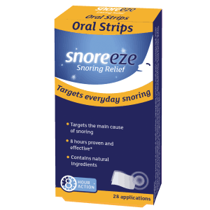Snoreeze Oral Strips 28 Single Pack