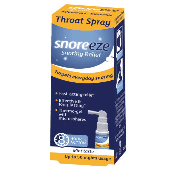 Snoreeze Throat Spray Single Pack