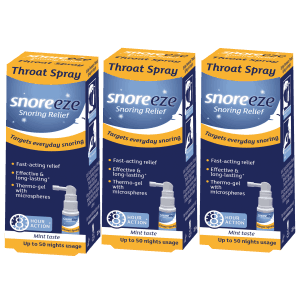 Snoreeze Throat Spray Triple Pack
