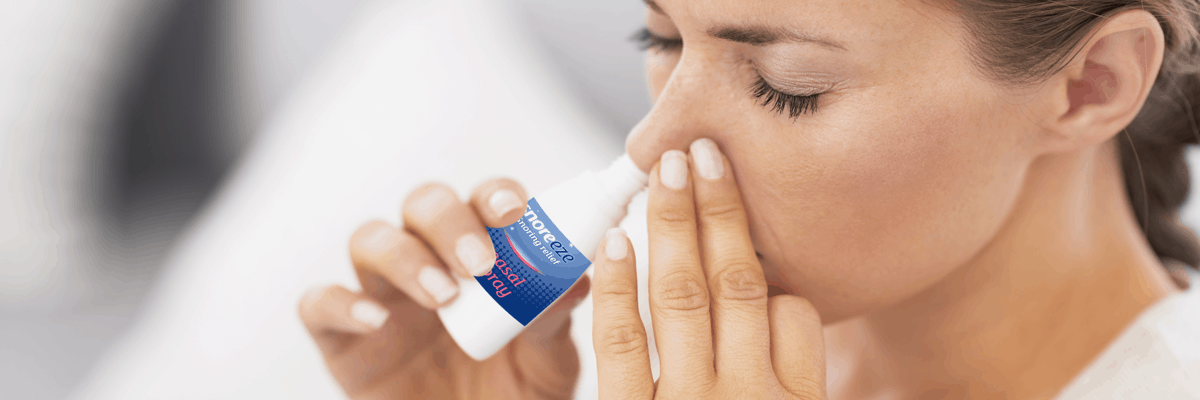 When You Should Use Nasal Spray/Nasal Strips to Treat Snoring