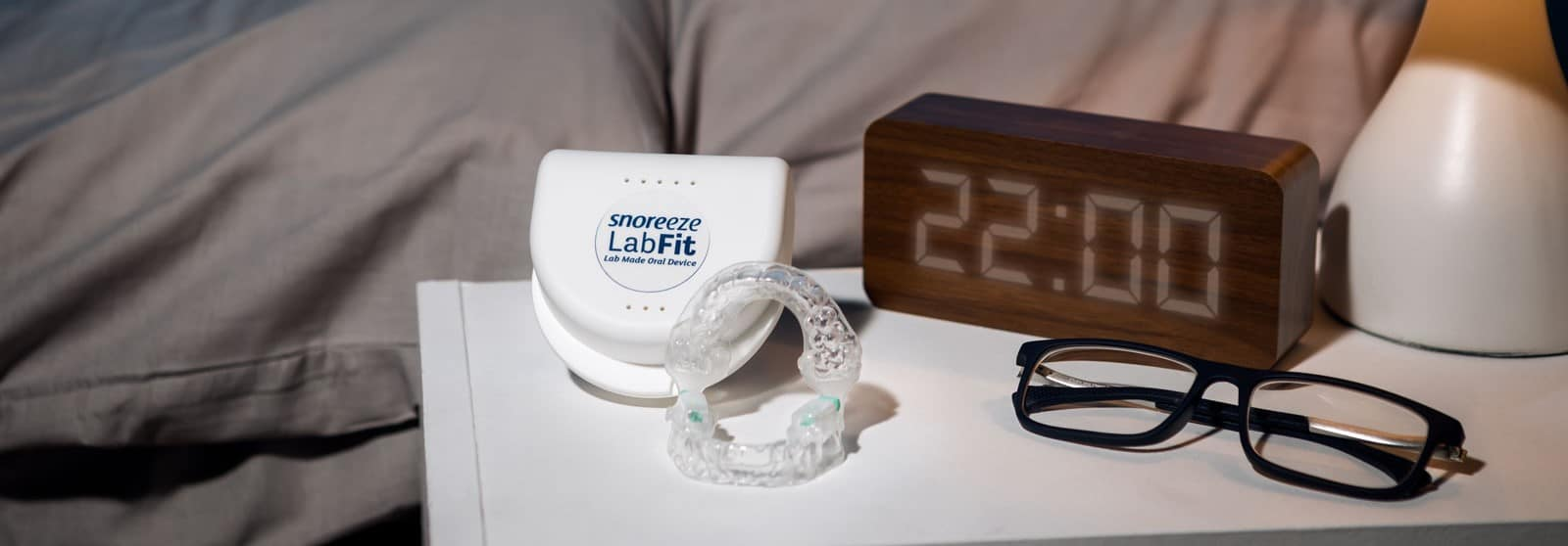 Snoreeze LabFit Oral Device: For loud snoring and obstructive sleep apnoea Snoreeze